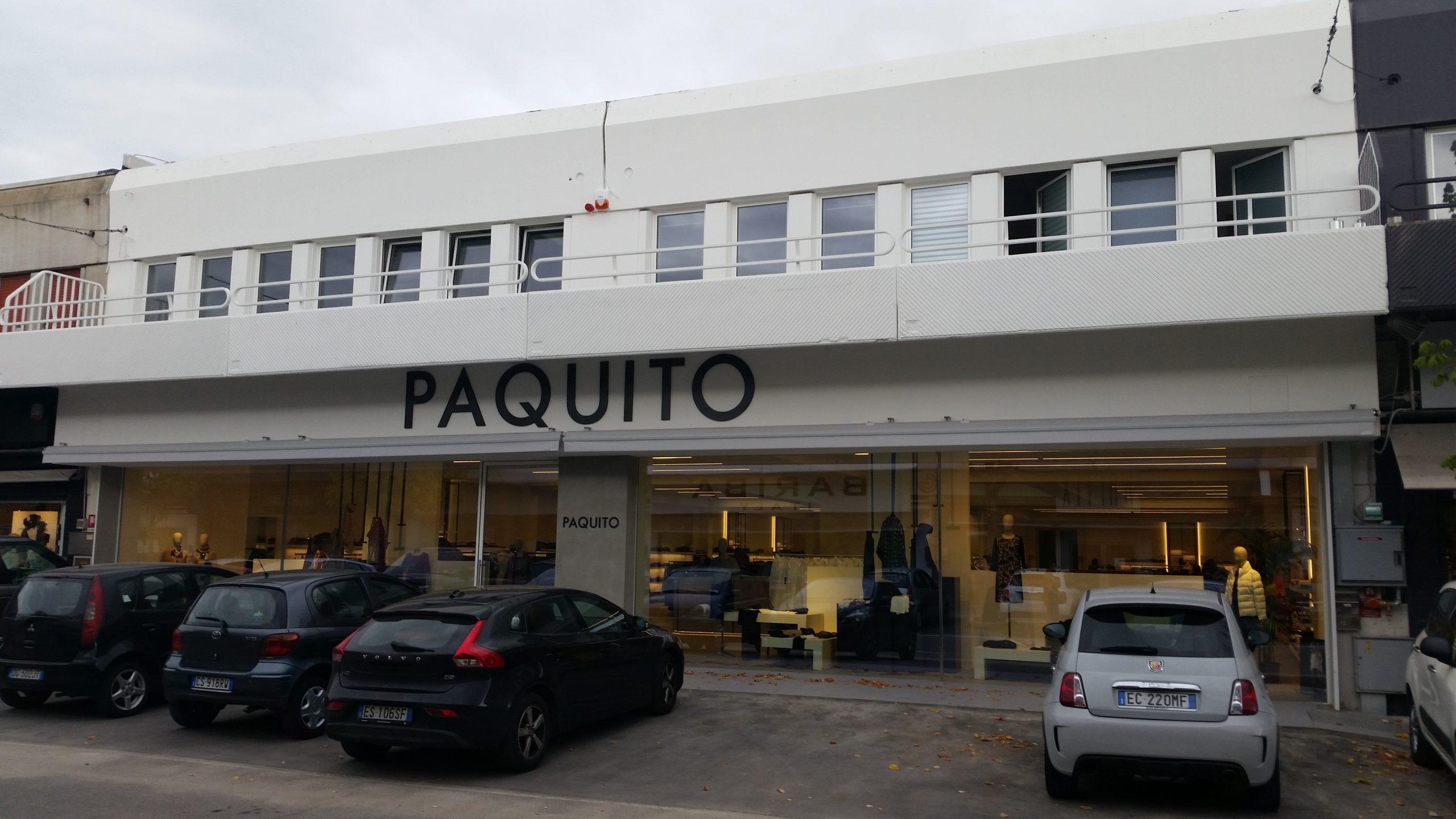 Esterno negozio Paquito